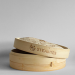 "Load image into Gallery viewer, Bamboo Steamer Basket (10"")"