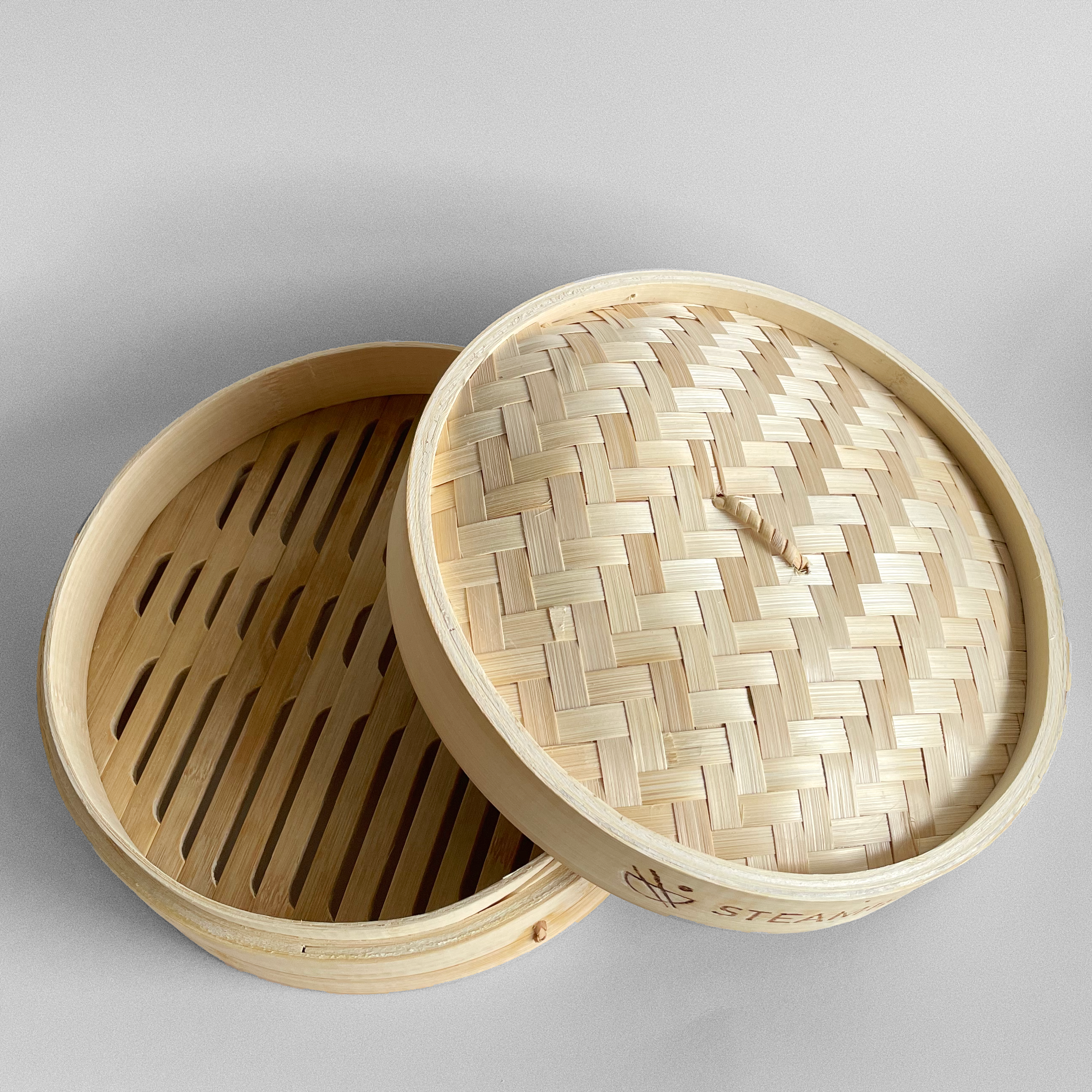 "Bamboo Steamer Basket (10"")"