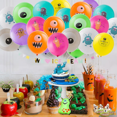 Monster Birthday Party Balloons