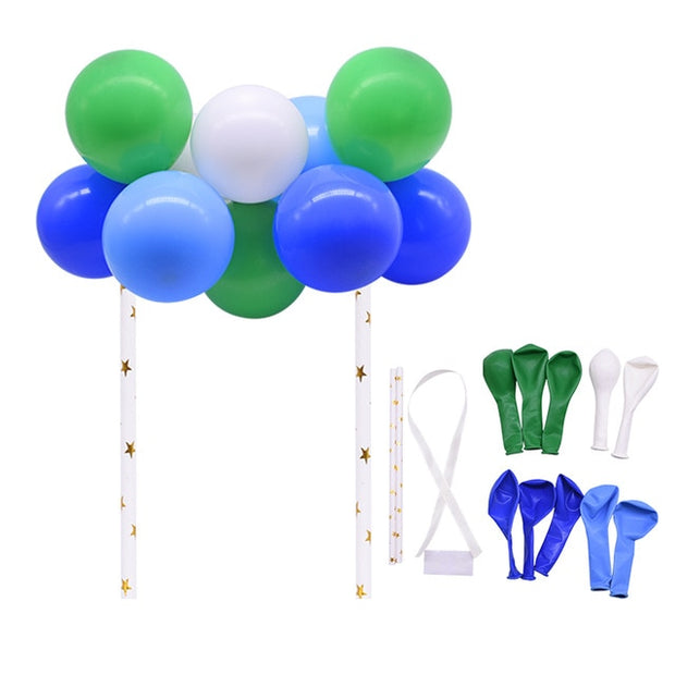 10pcs/lot 5inch Balloon Garland Arch Cake toppers