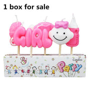 10Pcs Baby Shower decorations Its a Boy Girl Clothes Cupcake