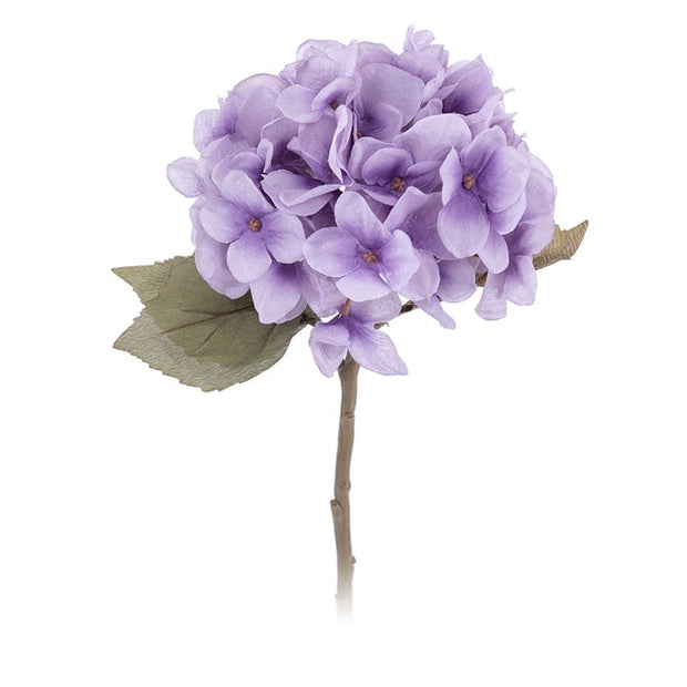 artificial flowers hydrangea branch
