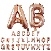 Rose Gold Mariage Letter Balloon