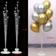 7/10 tube balloon stand party decorations