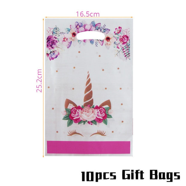 Unicorn Birthday Party Decoration Kids Tablecloth