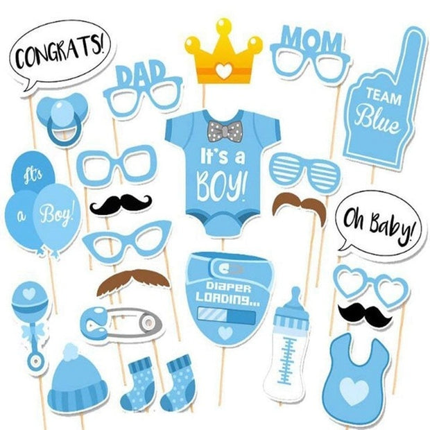 Baby Shower Boy Decorations Set It's a Boy