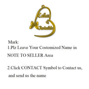 Customized Fashion Stainless Steel Name Necklace Personalized Letter Gold Choker Necklace Pendant Nameplate Gift