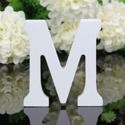 1pc Diy Freestanding Wood Wooden Letters