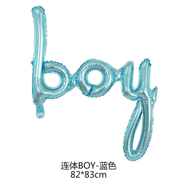GIHOO Blue link One Boy Rose Gold Girl Baby