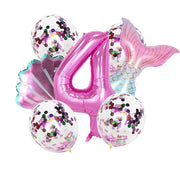 Mermaid Birthday Party Balloon Decoration