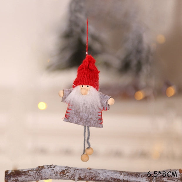 2021 New Year Gift Cute Christmas Angel Doll Xmas Tree Ornament Noel Deco Christmas Decoration for Home Natal Navidad 2020 Decor