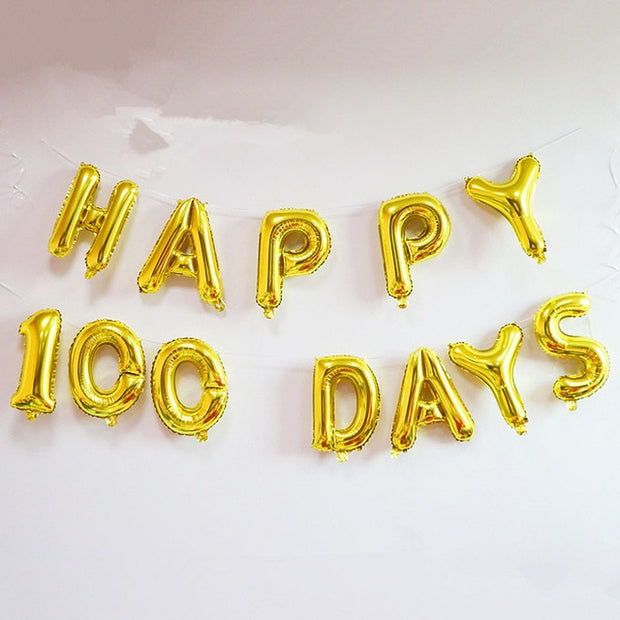 HAPPY BIRTHDAY Foil Balloons Happy Birthday Party Decoration Kids Alphabet Air Balloons Baby Shower Supplies