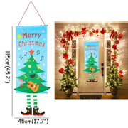 Merry Christmas Gift Bags Xmas Tree Plastic Packing Bag Snowflake Christmas Candy Box New Year 2021 Kids Favors Bag Noel Decor