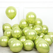 Glossy Metal Pearl Latex Balloons Thick Chrome Metallic Colors helium Air Balls Globos Birthday Party Decor