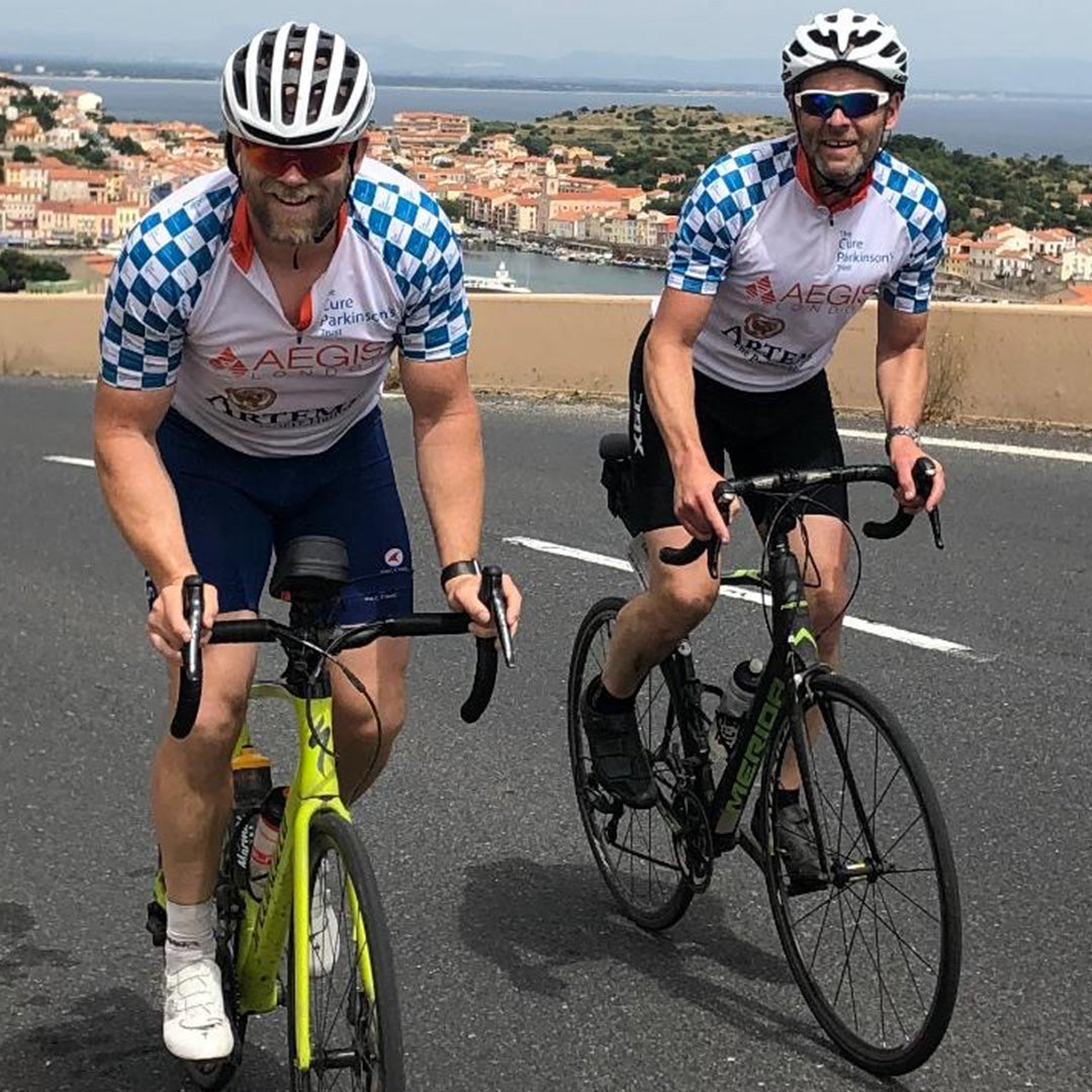 Mike Tindall and Cure Parkinsons CEO Will Cook on last years challenge
