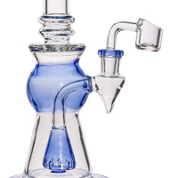 Glass Water Bongs Classic Design Straight Water Pipe 14.5mm Joint for Smoking