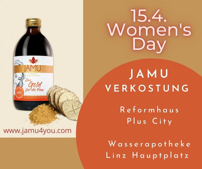 15.4. Women's Day - JAMU Verkostung
