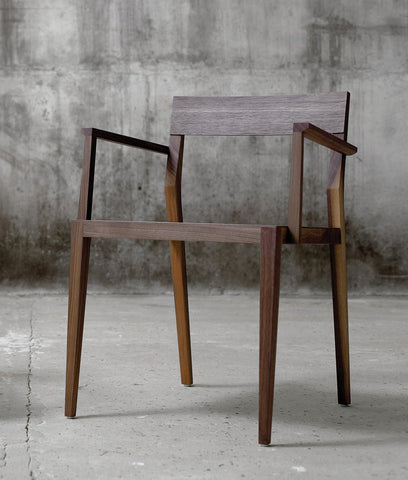 Chair Air Plus, American Walnut