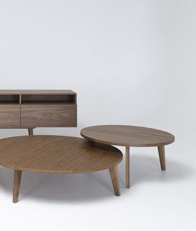 Coffee Table Low, Diameter 90cm Height 30 cm