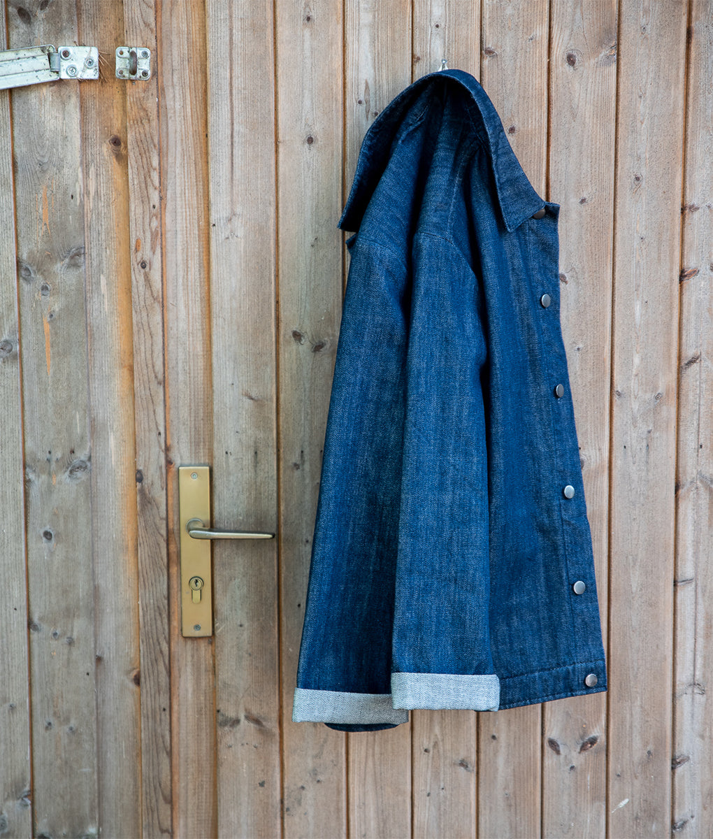Waldraud-Oftt-Denim workwear jacket-PhotoCredit-JessicaRankell