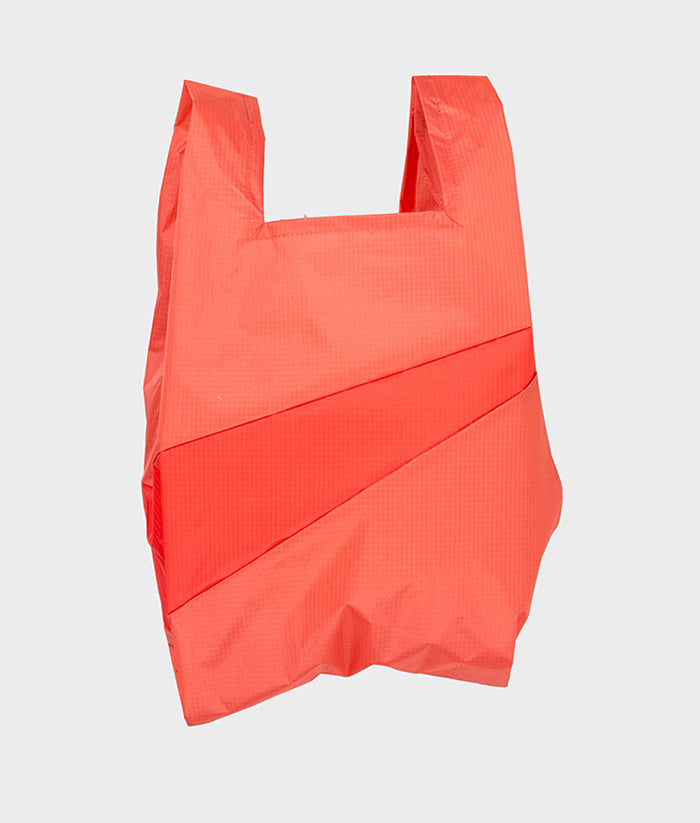 Shopping Bag Salmon & Red Alert