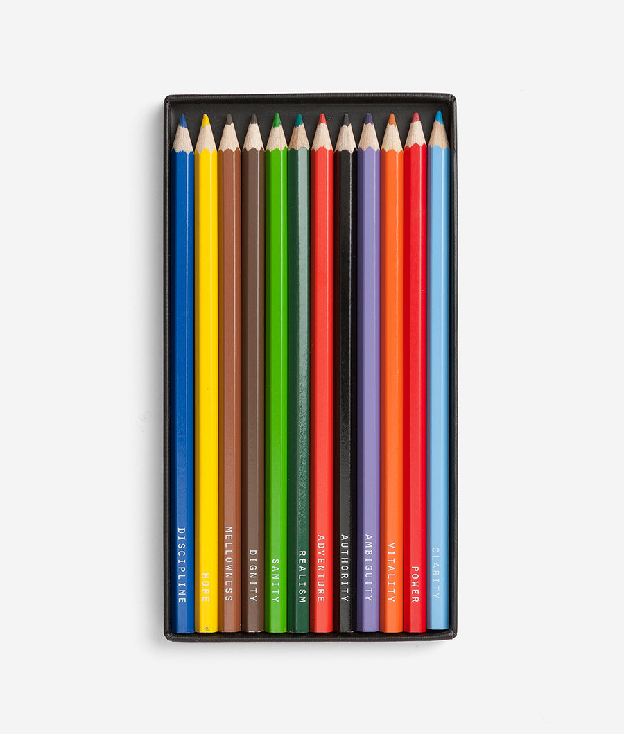 The Psychology of Colour, Pencil Set