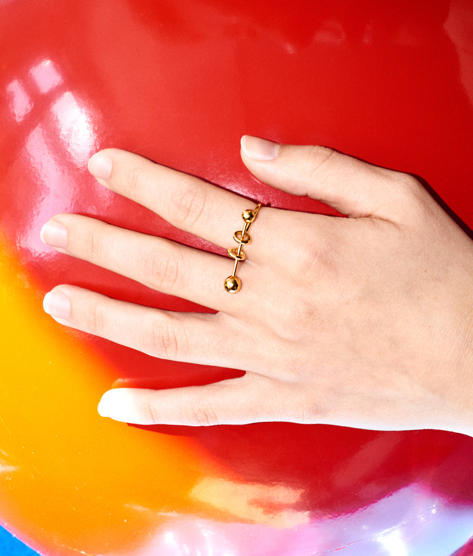 Piercing Ring Gold - 3