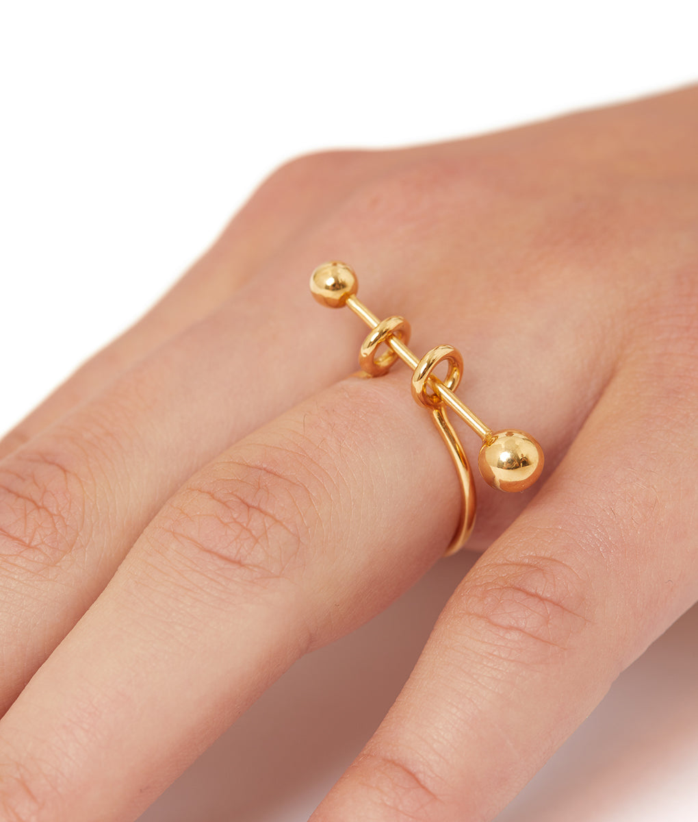 Piercing Ring Gold - 2