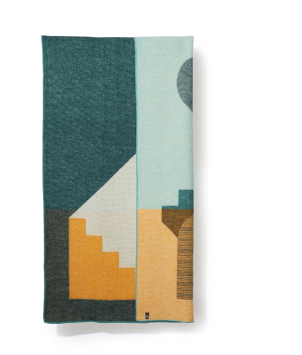 Aspect Wool Blanket by Yanvi Ha