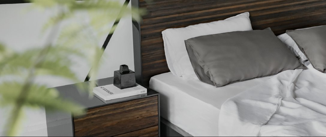 Zuma Bed and Nightstand