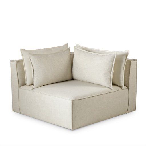 Corner Chair / Slip Cover / Madison Dove