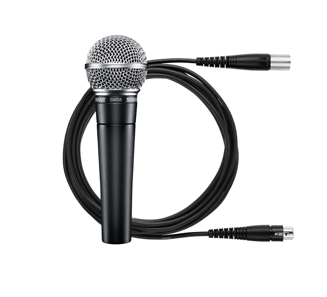 Shure SM58 Wired Dynamic Vocal Microphone