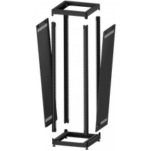 "Load image into Gallery viewer, MN Mounting SR600/36 19"" Audio Rack with 36U Rack Space"