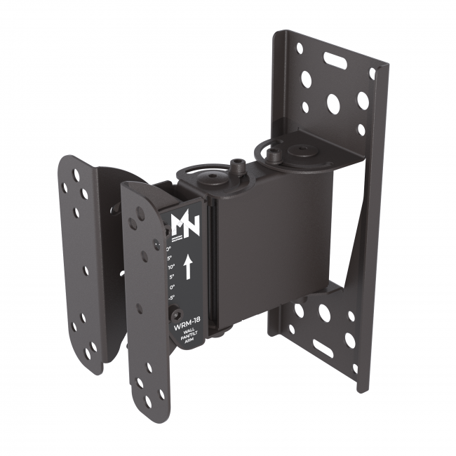 MN Mounting WRM-18 Speaker Wall Mount Pan/Tilt Arm with 7.1