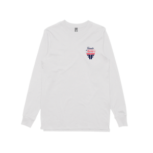 Thank You / Longsleeve T-shirt White