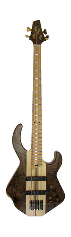 Duvoisin Custom Bass, Walnut Top