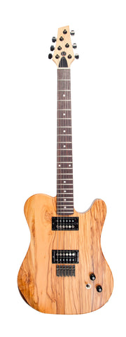 "Duvoisin Super Standard Guitar: ""The Queen of Olivewood"""