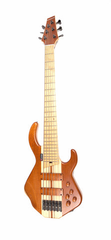Custom Six-String Honduras Mahogany Bass