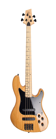 Duvoisin Standard Bass, Natural Wood Finish
