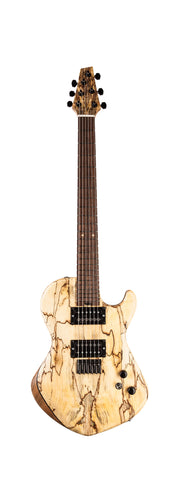 "Duvoisin Custom Guitar ""Dirty Flame"""
