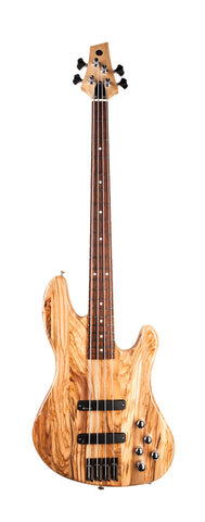 "Fat Standard Bass ""Glossy Prince of Olivewood"""