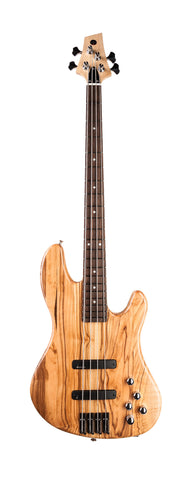 "Fat Standard Bass ""Satin Prince of Olivewood"" (2)"