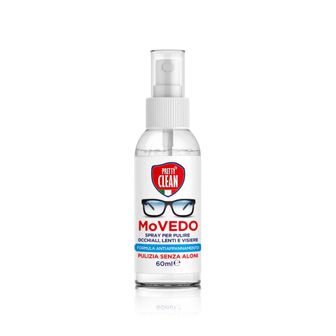Spray Antiappannamento Lenti e Occhiali - Movedo 60 ml