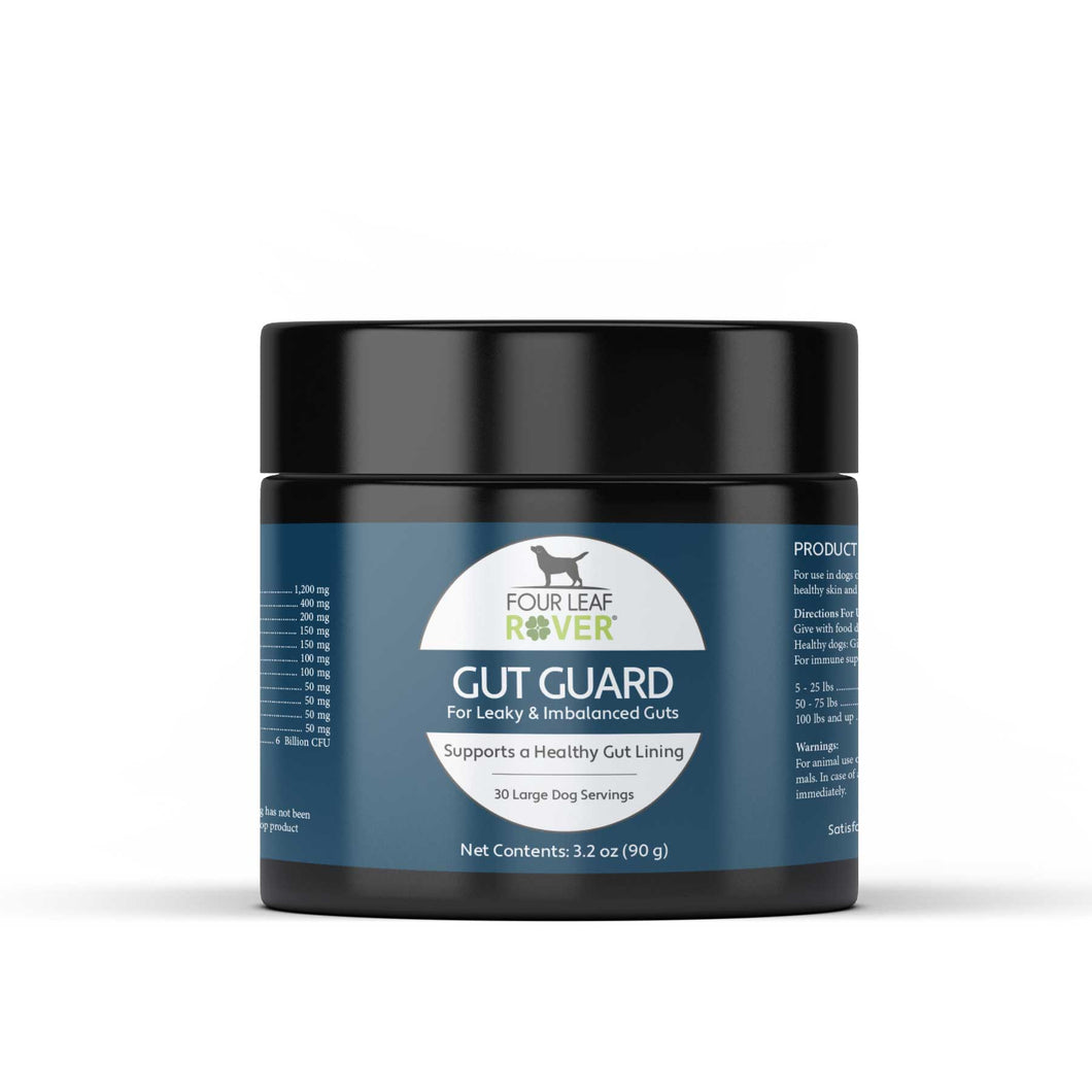 GUT GUARD: FOR DOGS WITH IRRITATED, LEAKY GUTS