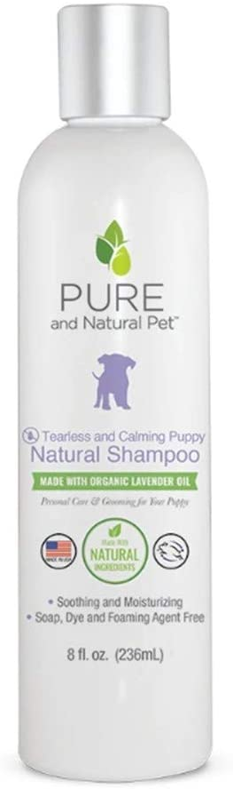 Pure and Natural Pet - Tearless and Calming Puppy Shampoo 8oz