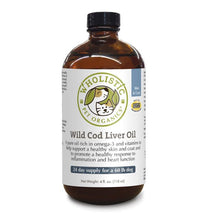 Load image into Gallery viewer, Wild Cod Liver Oil 8 oz