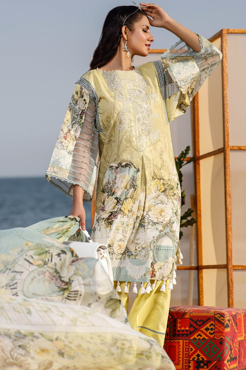 Urbane Embroidered(Chiffon Dupatta collection)