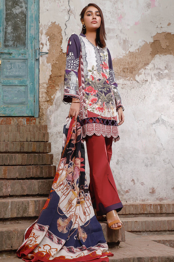 SALWA(Cotton Satin Printed Collection)