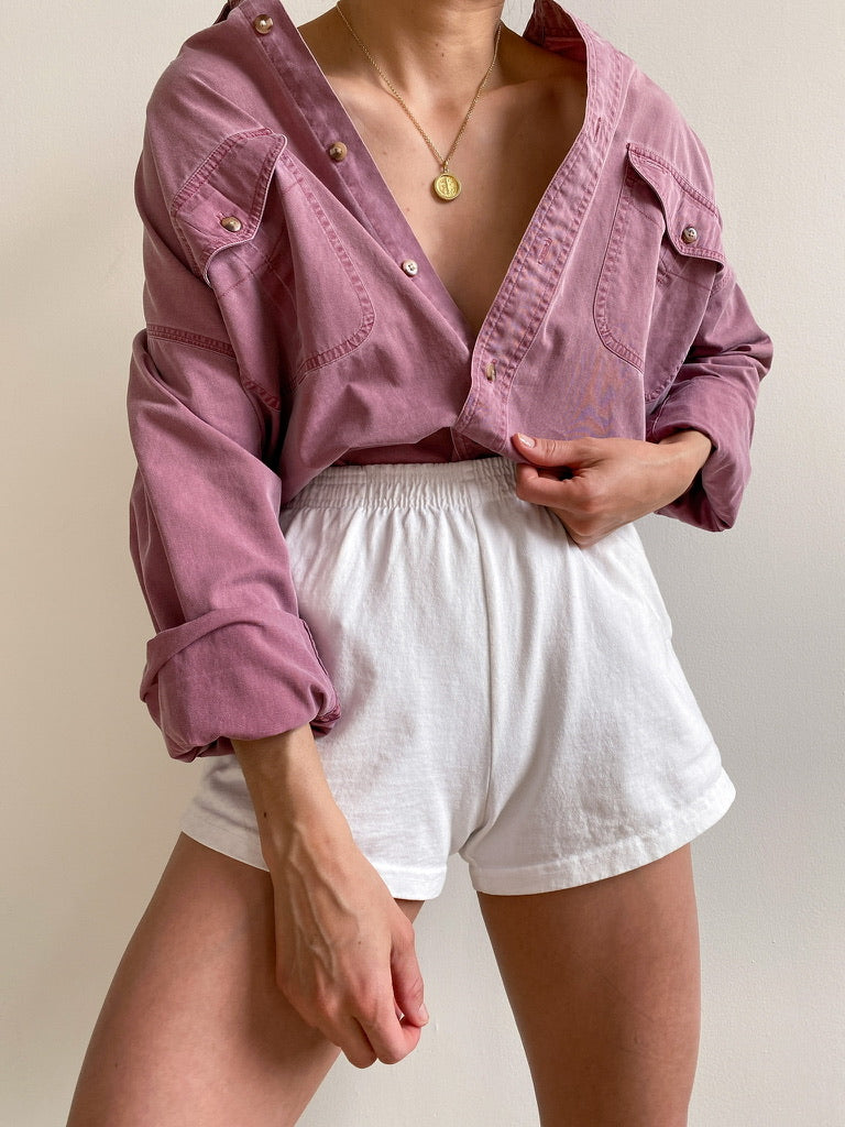 Vintage Mauve Button Down