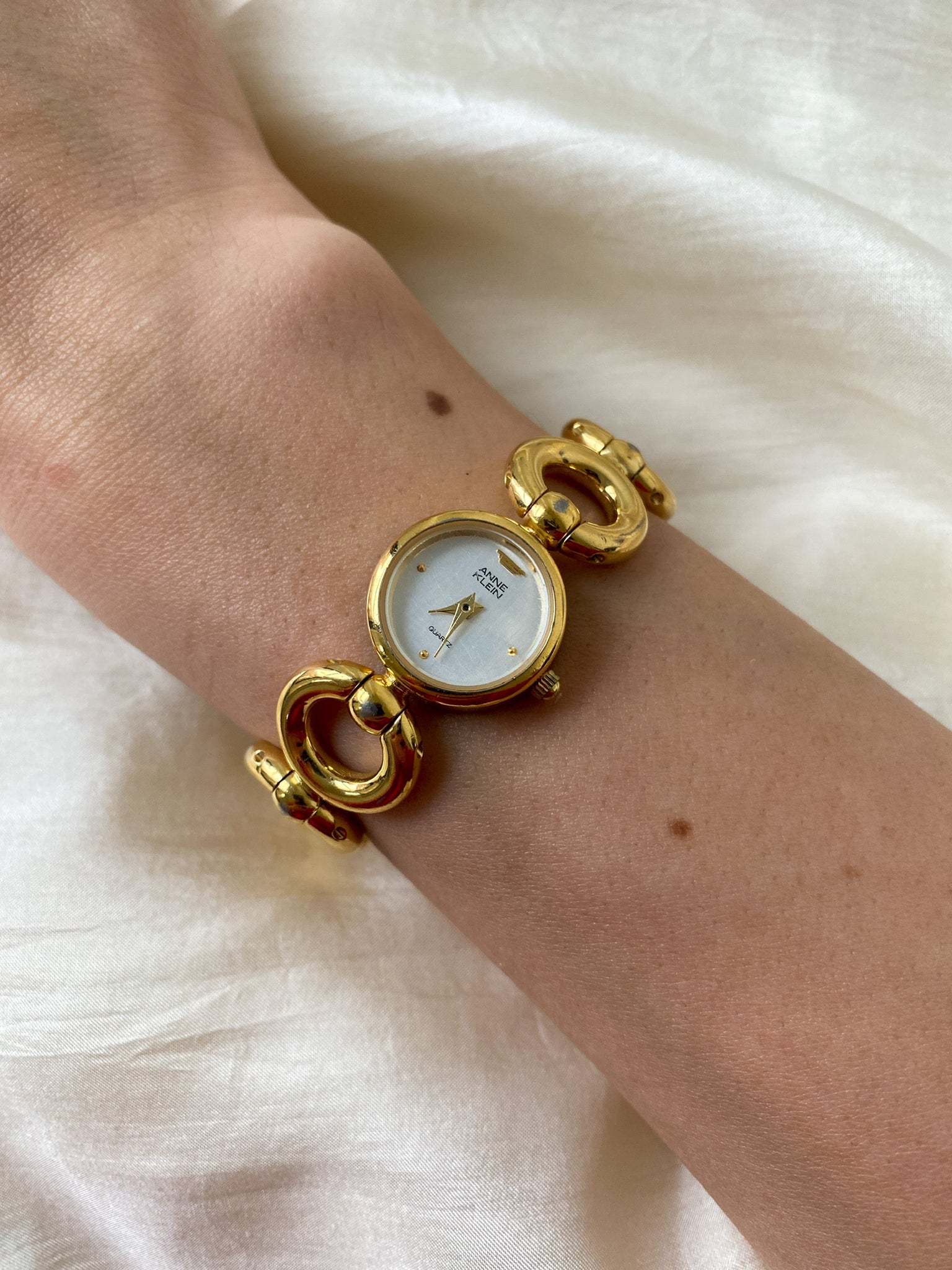 Vintage Gold Tone Women's Watch by Anne Klein